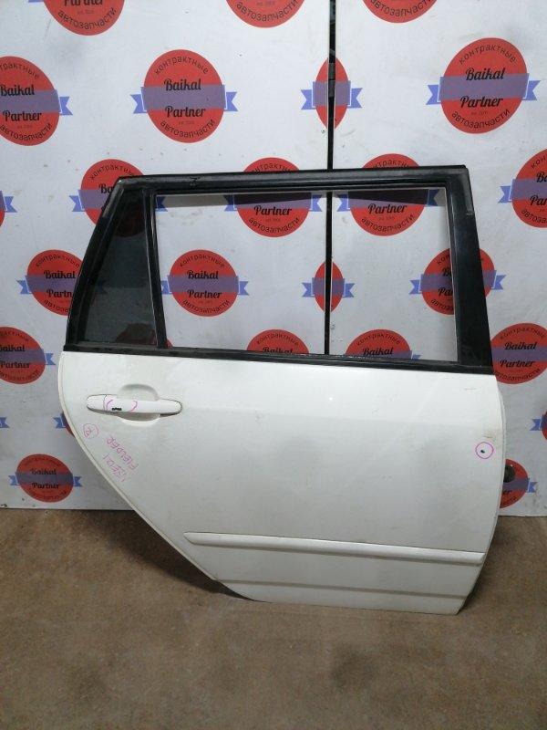 Дверь Toyota Corolla Fielder NZE121 1NZ-FE задняя правая