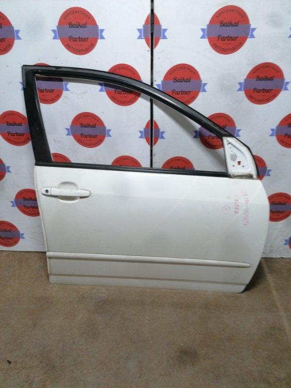 Дверь Toyota Corolla Fielder NZE121 1NZ-FE передняя правая