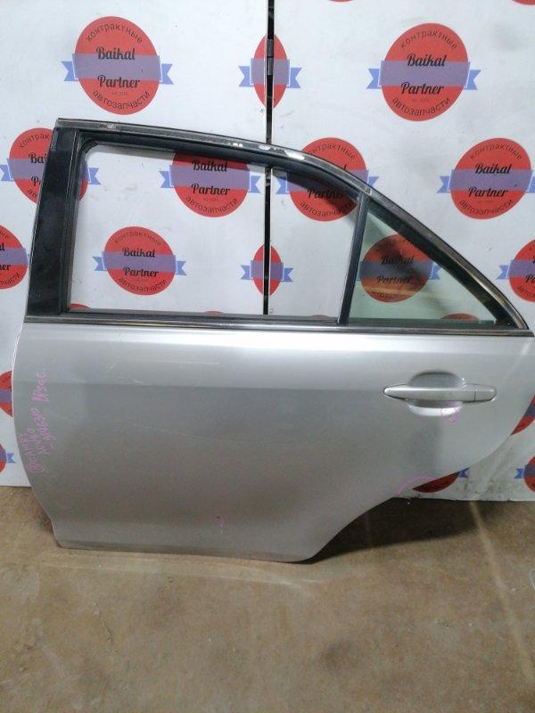 Дверь Toyota Camry ACV40 2AZ-FE задняя левая