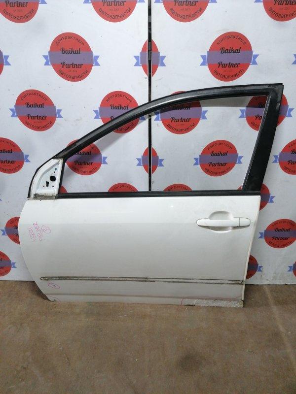 Дверь Toyota Corolla Fielder NZE121 1NZ-FE передняя левая