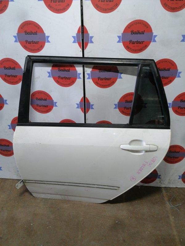 Дверь Toyota Corolla Fielder NZE121 1NZ-FE задняя левая