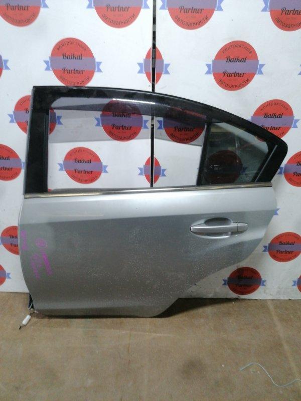 Дверь Subaru Impreza GG3 задняя левая