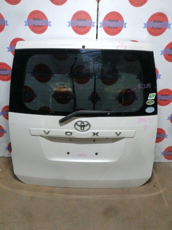 Дверь 5-я Toyota Voxy ZRR75G 3ZR-FE задняя
