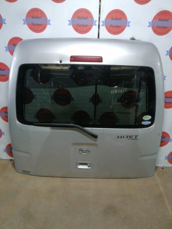 Дверь 5-я Daihatsu Hijet Cargo S330V задняя