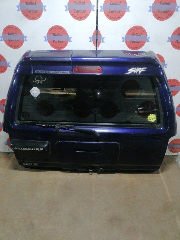 Дверь 5-я Toyota Hilux Surf KZN185W 1KZ-TE 1996.10 задняя