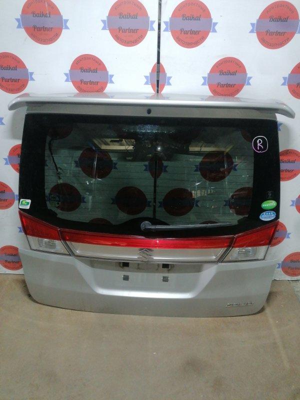 Дверь 5-я Suzuki Solio MA15S K12B задняя