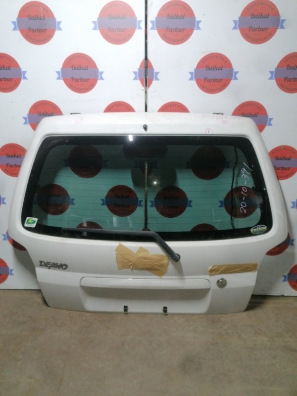 Дверь 5-я Mazda Demio DW3W B3-E задняя