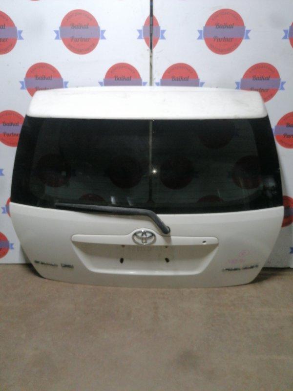 Дверь 5-я Toyota Corolla Fielder NZE121G 1NZ-FE