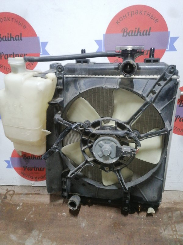 Радиатор двс Toyota Passo KGC15 1KR-FE