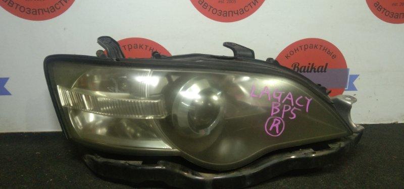 Фара Subaru Legacy BP5 передняя правая
