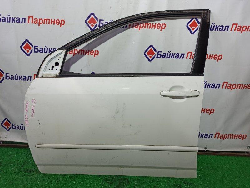 Дверь Toyota Corolla Fielder NZE124G 1NZ-FE передняя левая