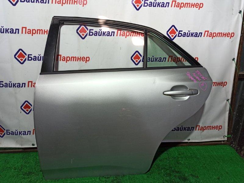 Дверь Toyota Allion ZRT265 2ZR-FE задняя левая