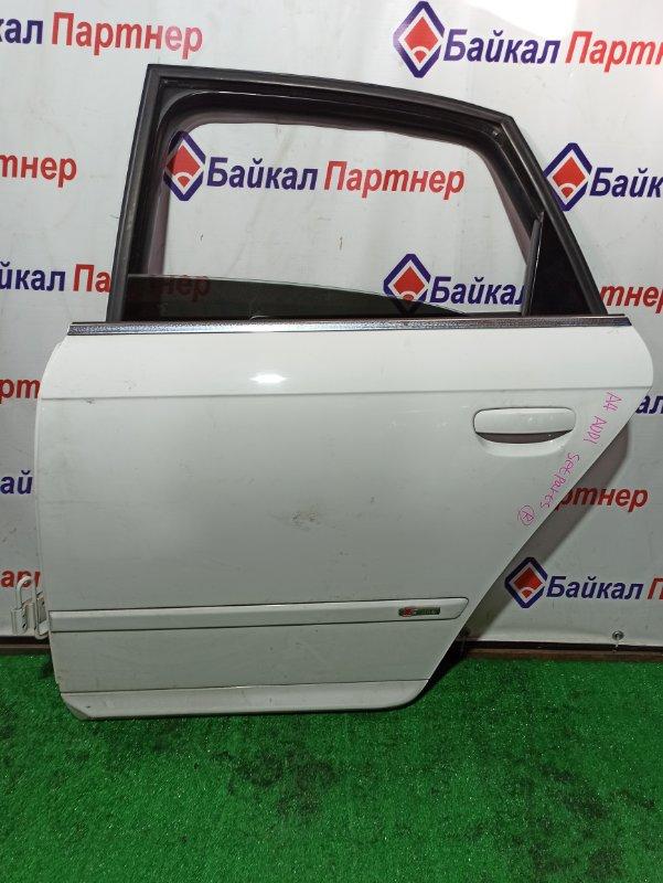 Дверь Audi A4 задняя левая