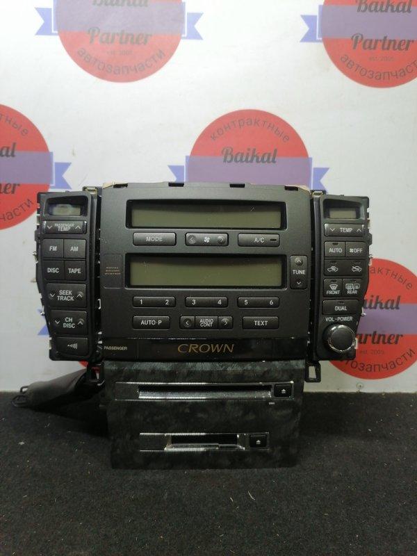 Блок управления климат-контролем Toyota Crown GRS180