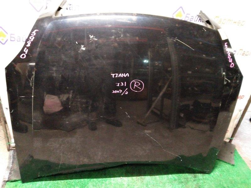 Капот Nissan Teana J31 VQ23DE 2006
