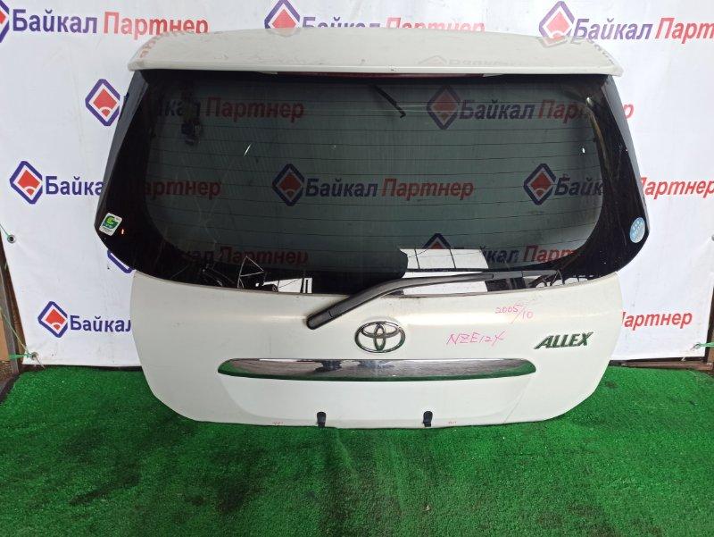 Дверь 5-я Toyota Allex NZE121 1NZ-FE 2005