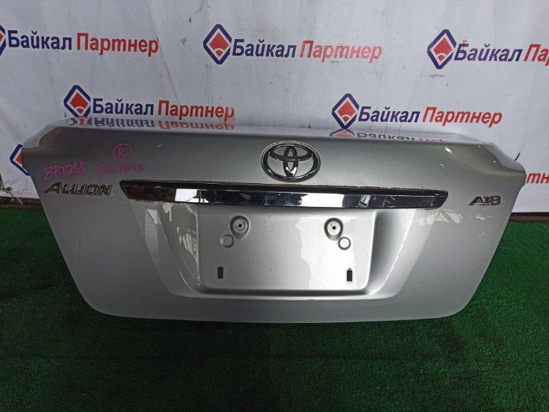 Крышка багажника Toyota Allion ZRT265 2ZR-FE 2007