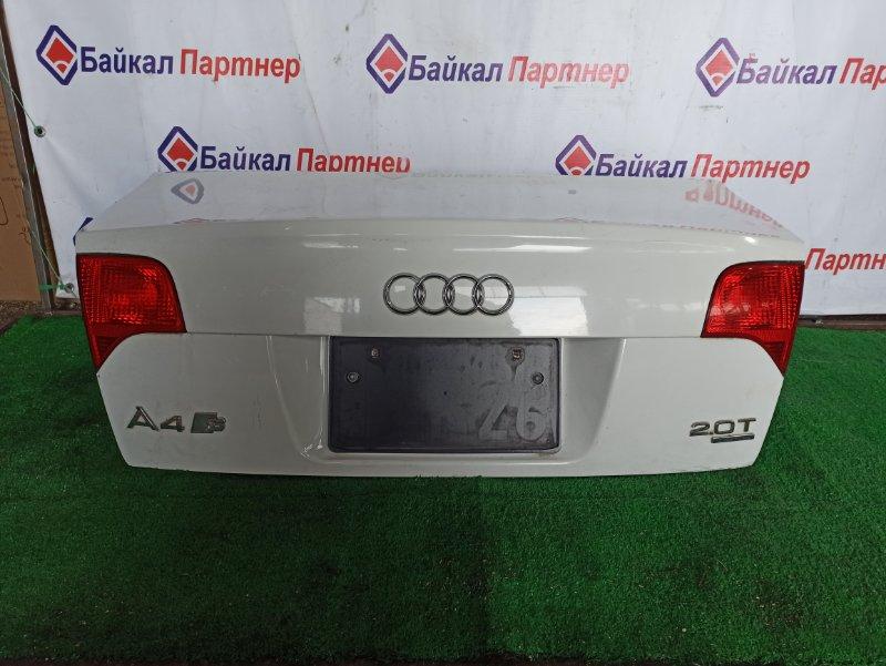 Крышка багажника Audi A4 8EC задняя