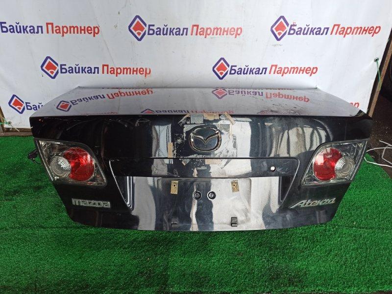Крышка багажника Mazda Atenza GGEP LF-VE задняя