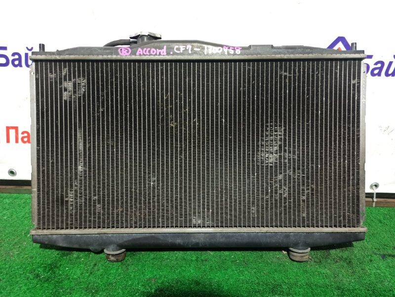 Радиатор двс Honda Accord CF7 F23A