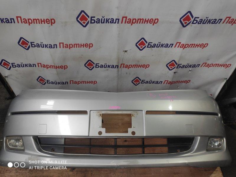 Бампер Toyota Alphard ANH10W 2AZ-FE передний