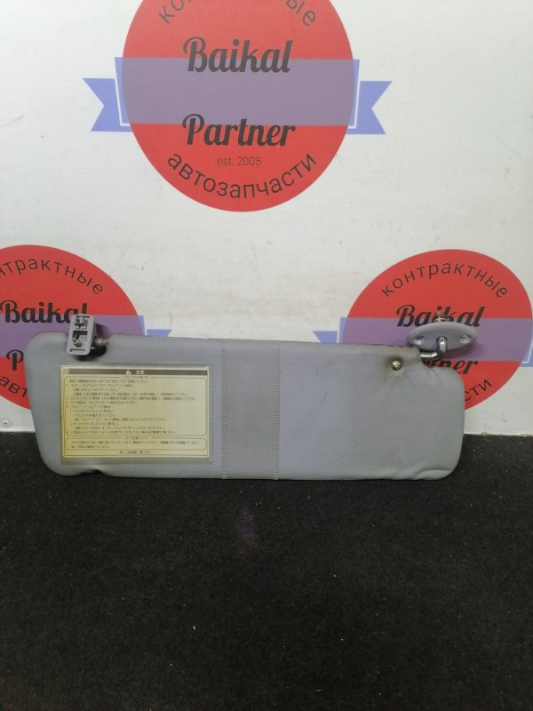 Солнцезащитный козырек Toyota Hilux Surf KZN185W 1KZ-TE 1996.10 передний правый