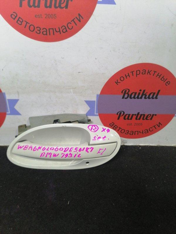 Ручка двери Bmw 7-Series E66 N62B44 2002 передняя левая