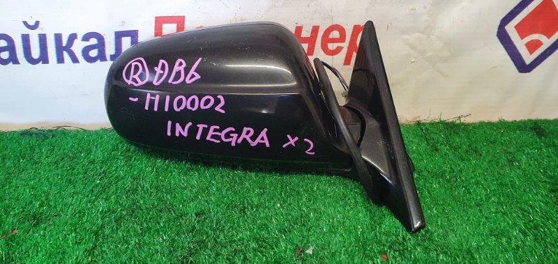Зеркало Honda Integra DB6 ZC переднее правое