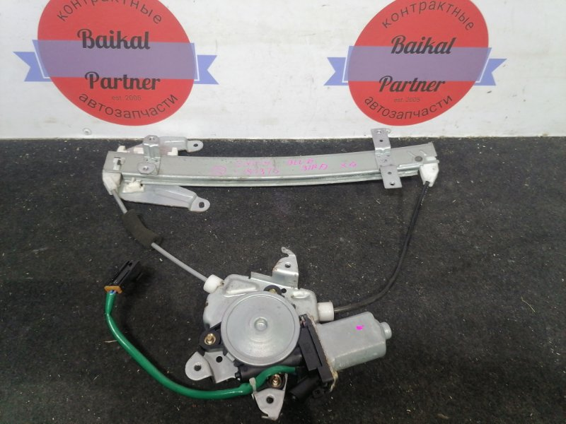 Стеклоподъемный механизм Nissan Bluebird ENU14 задний левый