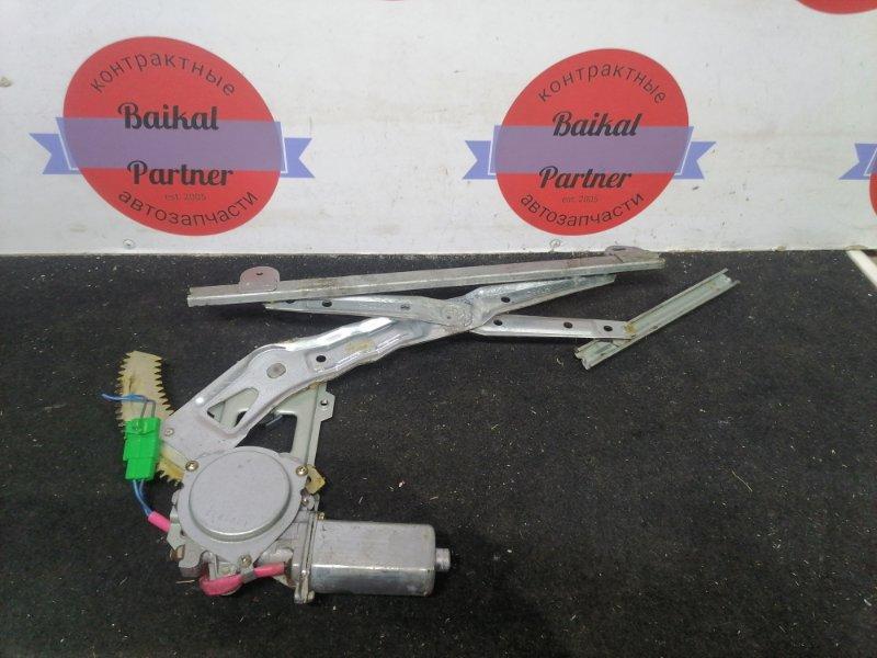 Стеклоподъемный механизм Subaru Impreza GF1 передний левый