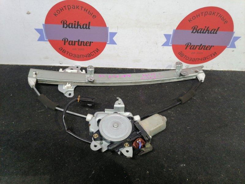 Стеклоподъемный механизм Nissan Bluebird ENU14 передний левый