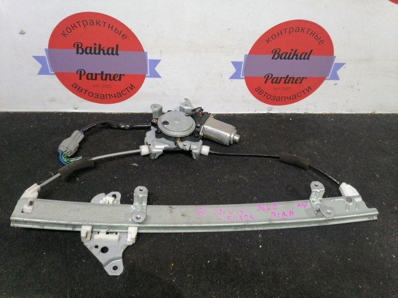 Стеклоподъемный механизм Nissan Bluebird ENU14 передний правый