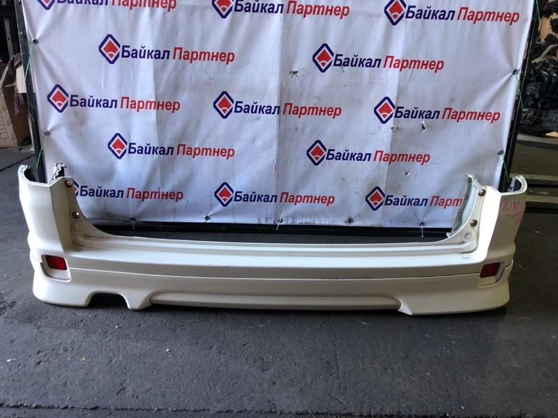 Бампер Honda Step Wagon RF8 K24A задний