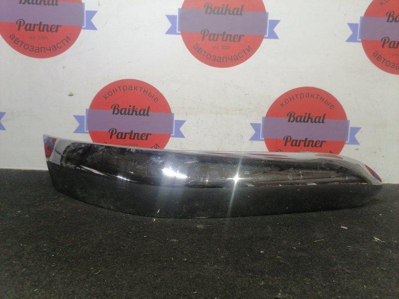 Накладка на бампер Toyota Duet M100A EJ-VE 2002 передняя правая