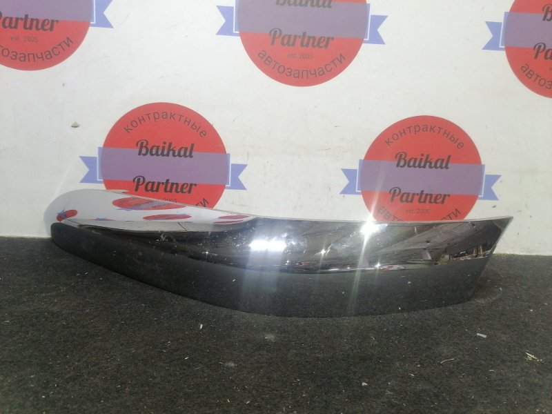 Накладка на бампер Toyota Duet M100A EJ-VE 2002 передняя левая