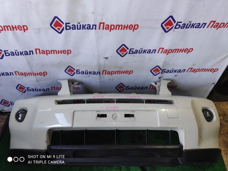 Бампер Nissan X-Trail DNT31 M9R 2008 передний