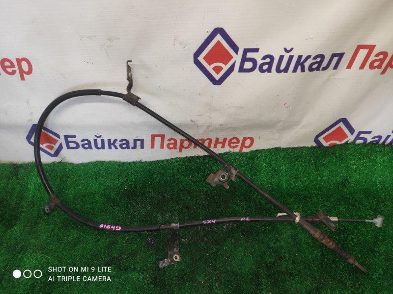 Тросик ручника Suzuki Sx4 задний левый