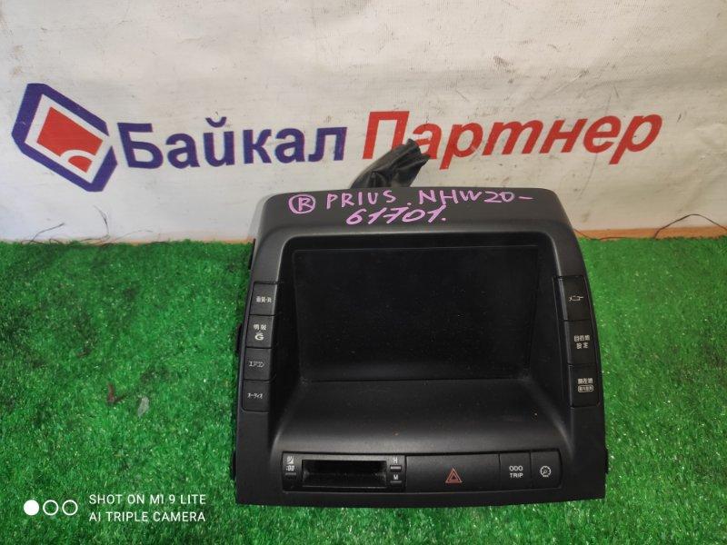Монитор Toyota Prius NHW20 1NZ-FXE