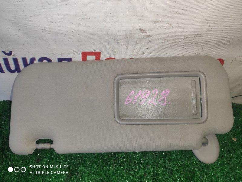 Солнцезащитный козырек Toyota Allion ZRT265 2ZR-FE передний левый
