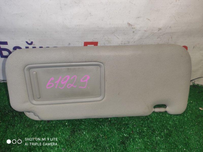 Солнцезащитный козырек Toyota Allion ZRT265 2ZR-FE передний правый