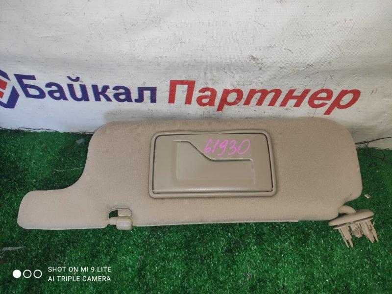 Солнцезащитный козырек Toyota Premio ZZT240 1ZZ-FE передний левый