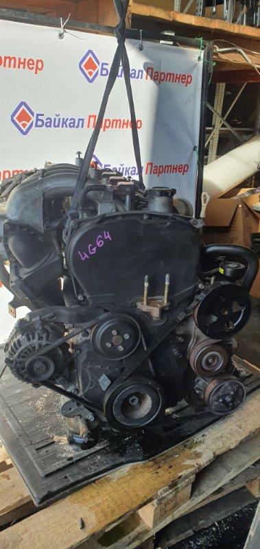 Двигатель Mitsubishi Rvr N74W 4G64 1999