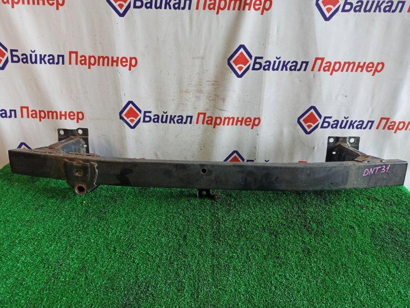 Усилитель бампера Nissan X-Trail DNT31 M9R 2008 передний