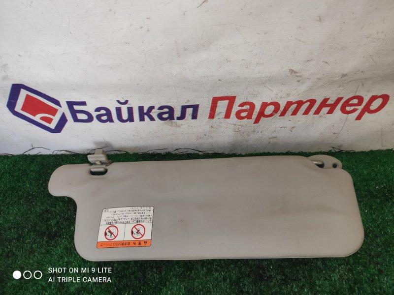 Солнцезащитный козырек Toyota Succeed NCP55V 1NZ-FE передний левый
