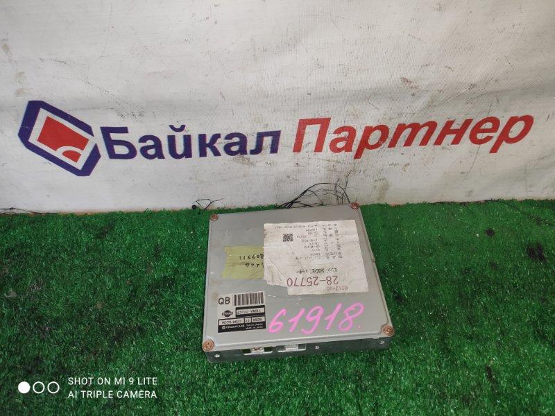 Блок efi Nissan Safari WGY61 TB54E 1999