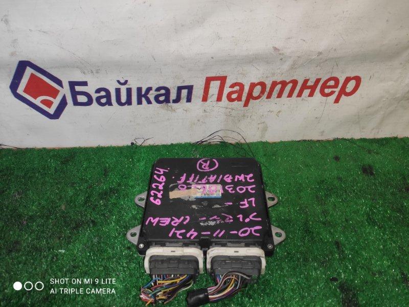 Блок efi Mazda Premacy CREW LF-VE