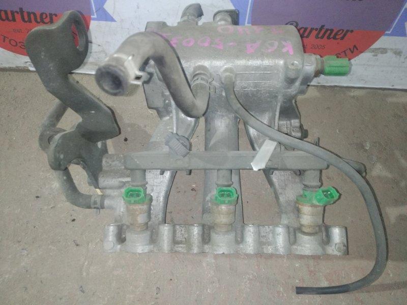 Топливная рейка с инжекторами Suzuki Jimny JB23W K6A