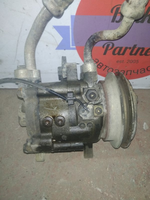 Компрессор кондиционера Suzuki Jimny JB23W K6A