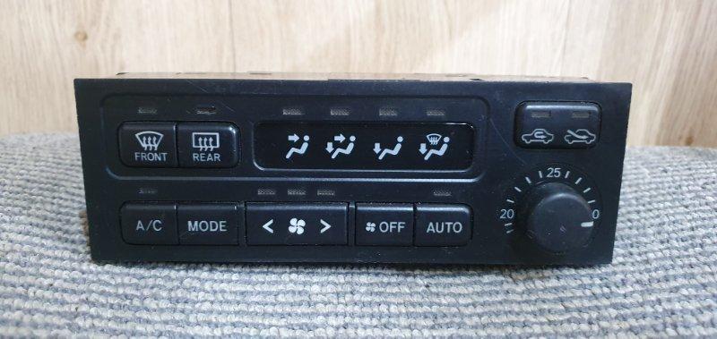 Блок управления климат-контролем Toyota Cresta GX100 1G-FE