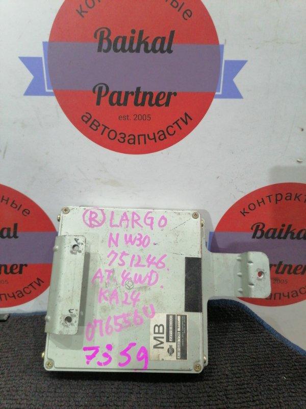 Блок управления двс Nissan Largo NW30 KA24DE 1996 A18-G40 y75 6y07